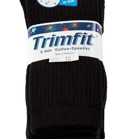 Trimfit Trimfit Boys Cotton Rib Crew Socks 3-Pack