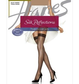Hanes Hanes Silk Reflections Silky Sheer Thigh High