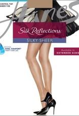 Hanes Hanes Silk Reflections Sheer Toe Control Top