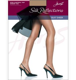 Hanes Hanes Silk Reflections Sheer Toe Non CT