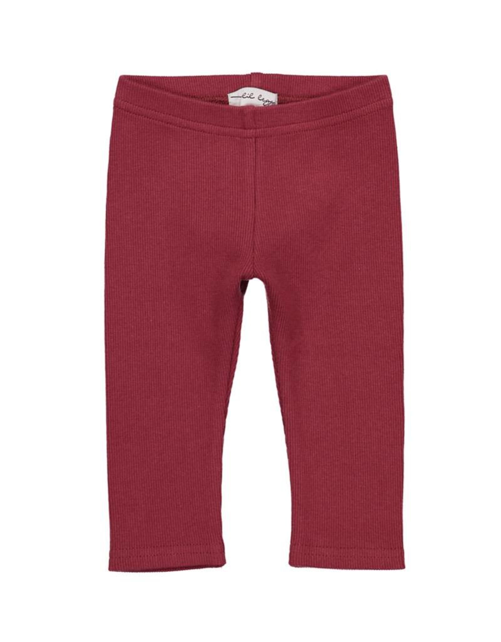 LIL LEGS FW Rib Leggings Basic Colors