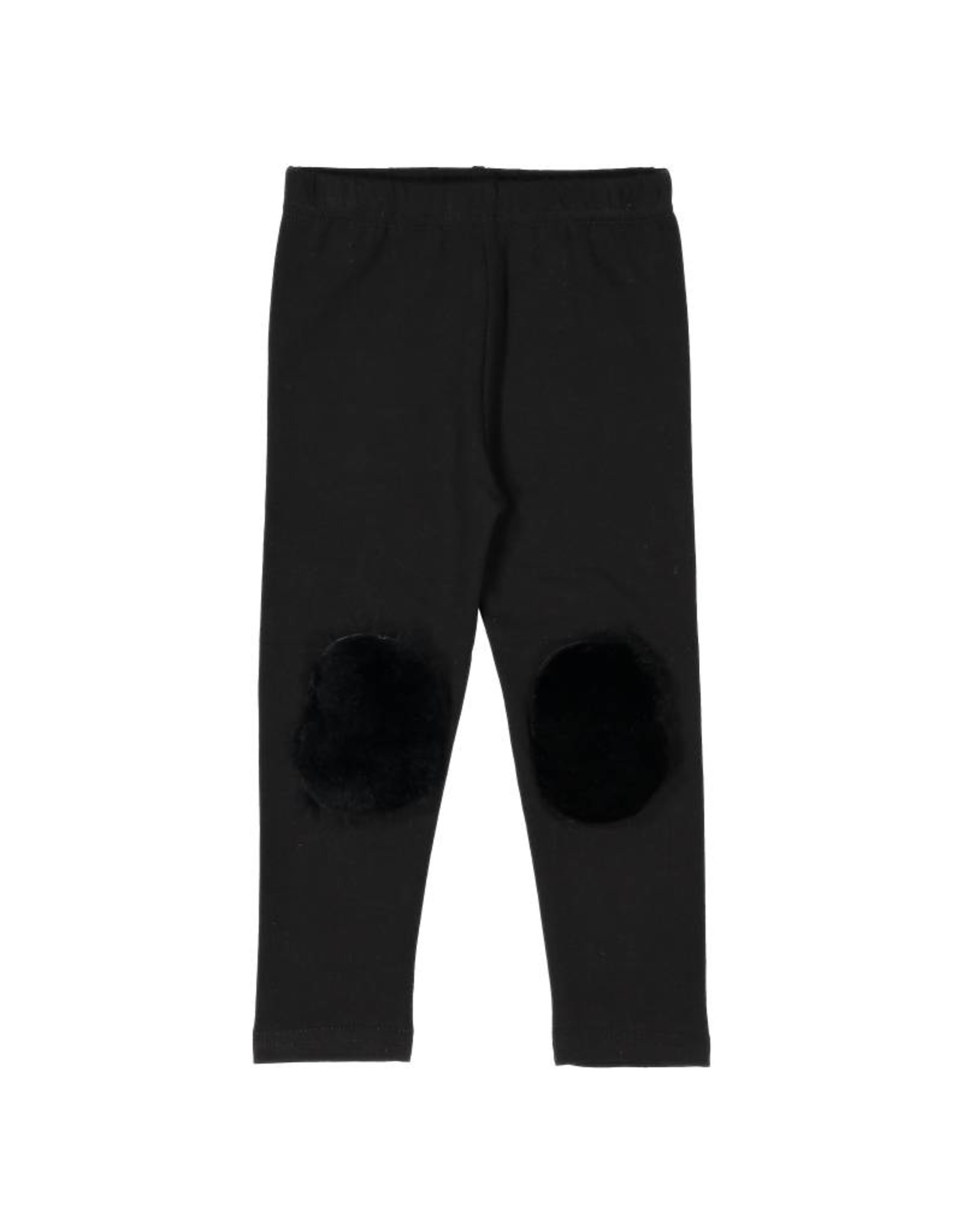 Noggi Noggi Fur Patch Baby Leggings