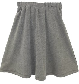 MeMe MeMe Heather Grey Aline Skirt