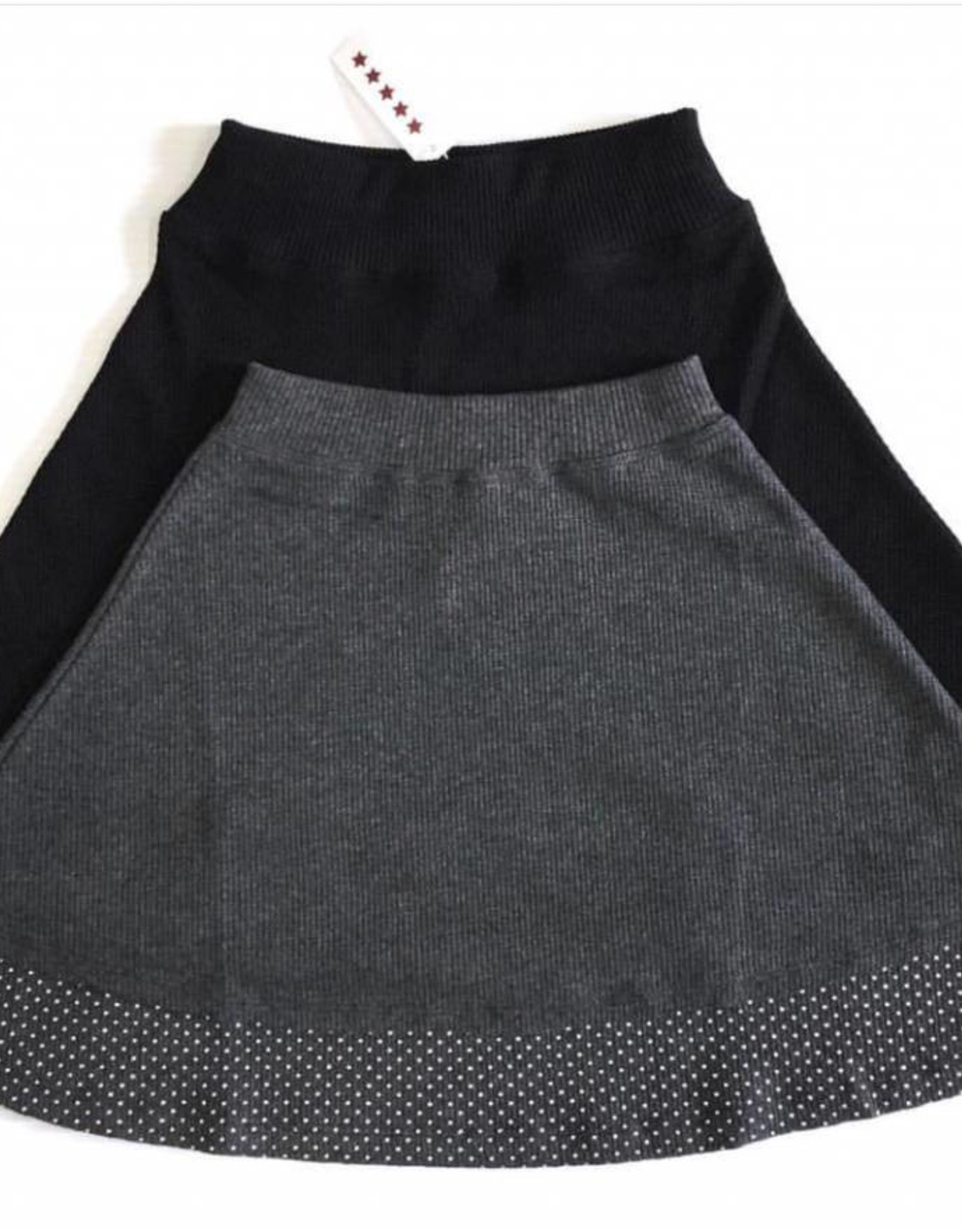 FIVE STAR ***** Waffle Stud Skirt