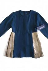 Wings Wings Side Pleated Dress
