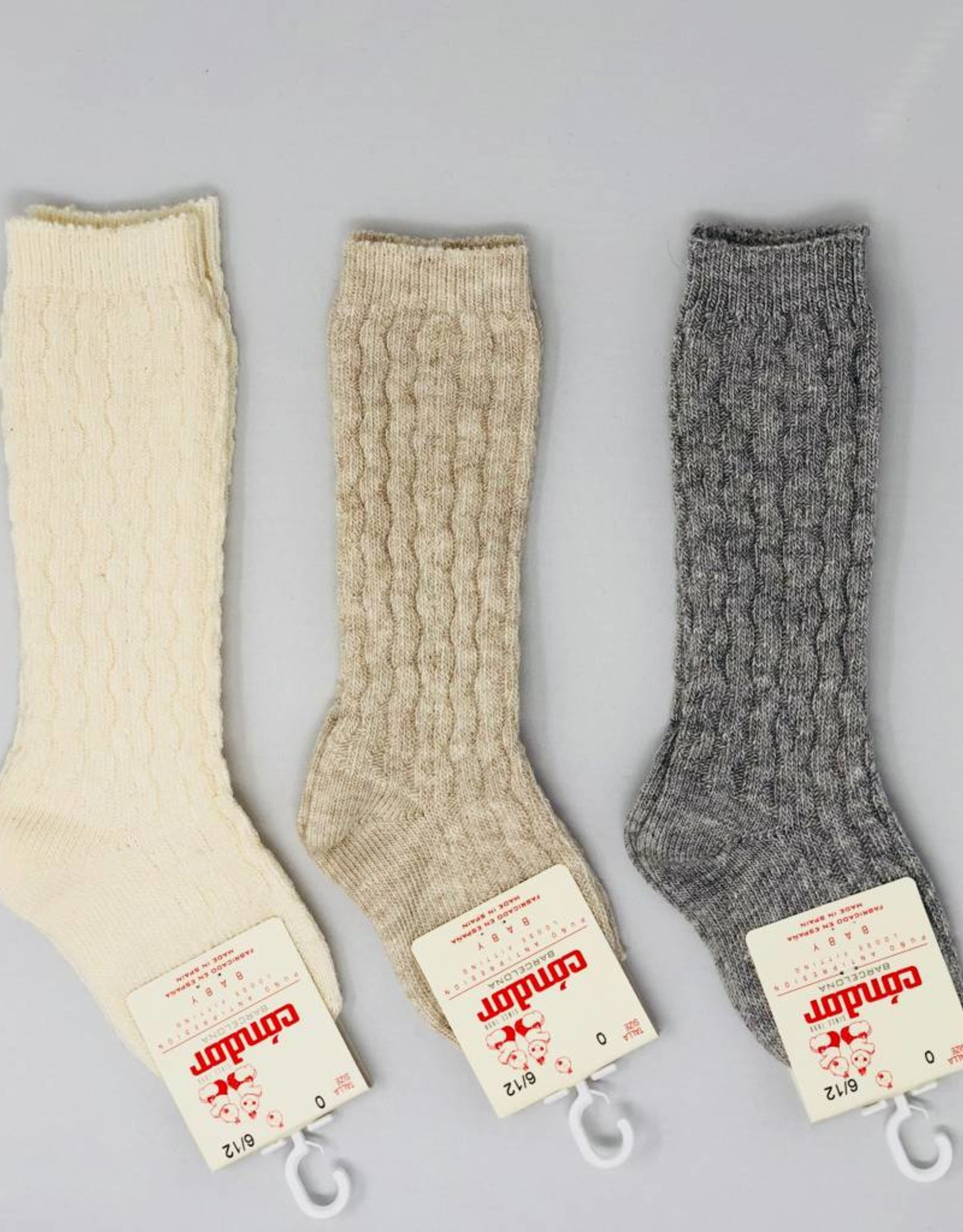 Condor Condor Cable Design Knee Sock