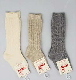 Condor Condor Cable Design Baby Knee Sock