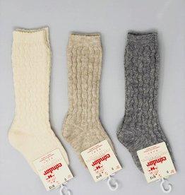 Condor Condor Cable Design Baby Knee Sock