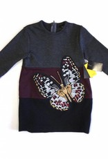 Abigail Abigail Colorblock Butterfly Dress