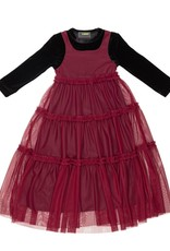 Cindy CINDY Chiffon/Tulle Tiered Robe