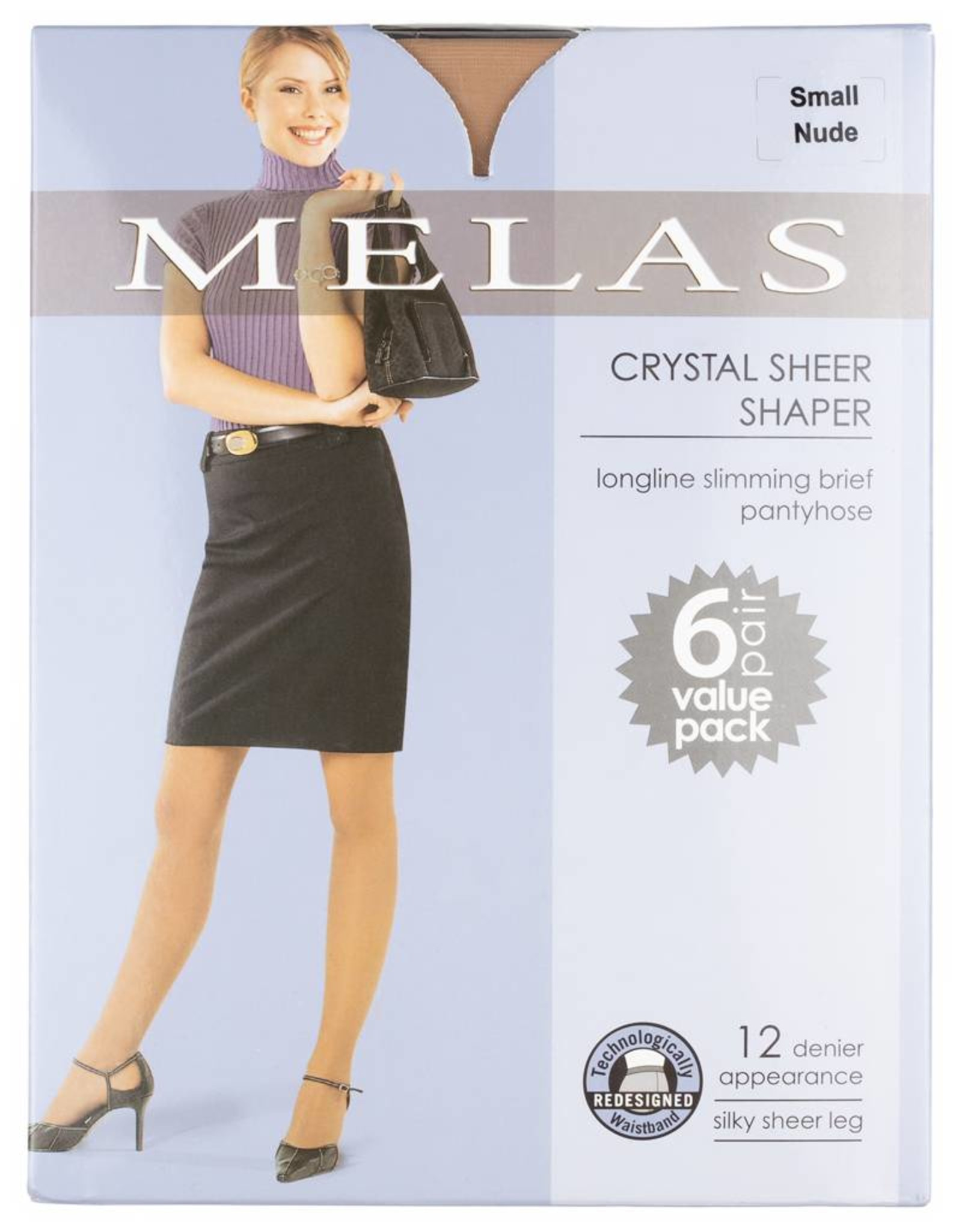 Melas Melas Crystal Sheer Shaper 6-Pack