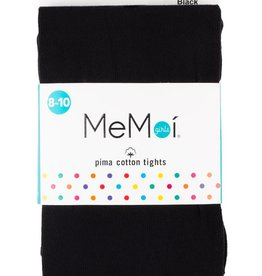 Memoi Memoi Girls Pima Cotton Tights