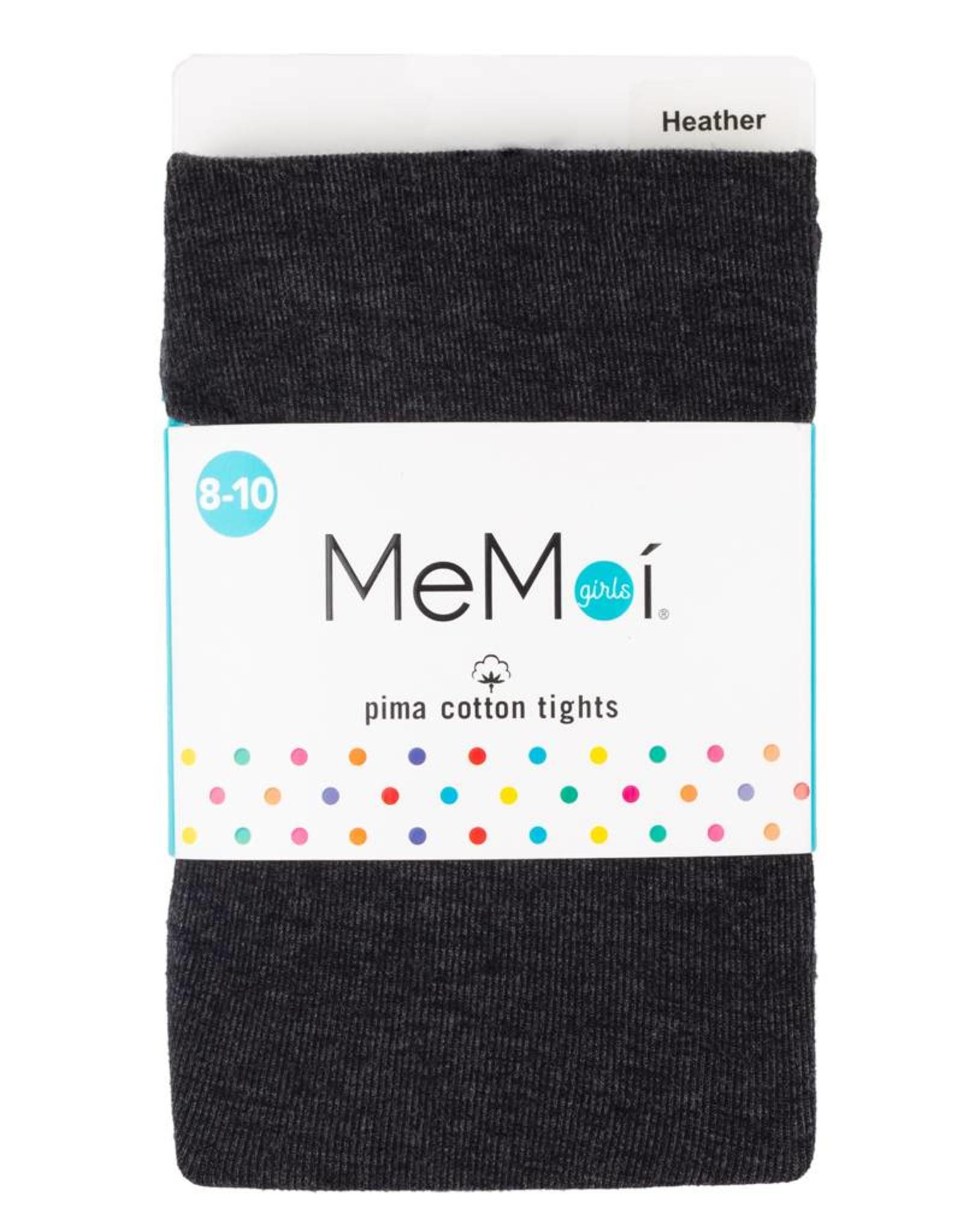 Memoi Memoi Girls Pima Cotton Tights