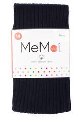 Memoi Memoi Girls Ribbed Cotton Tights