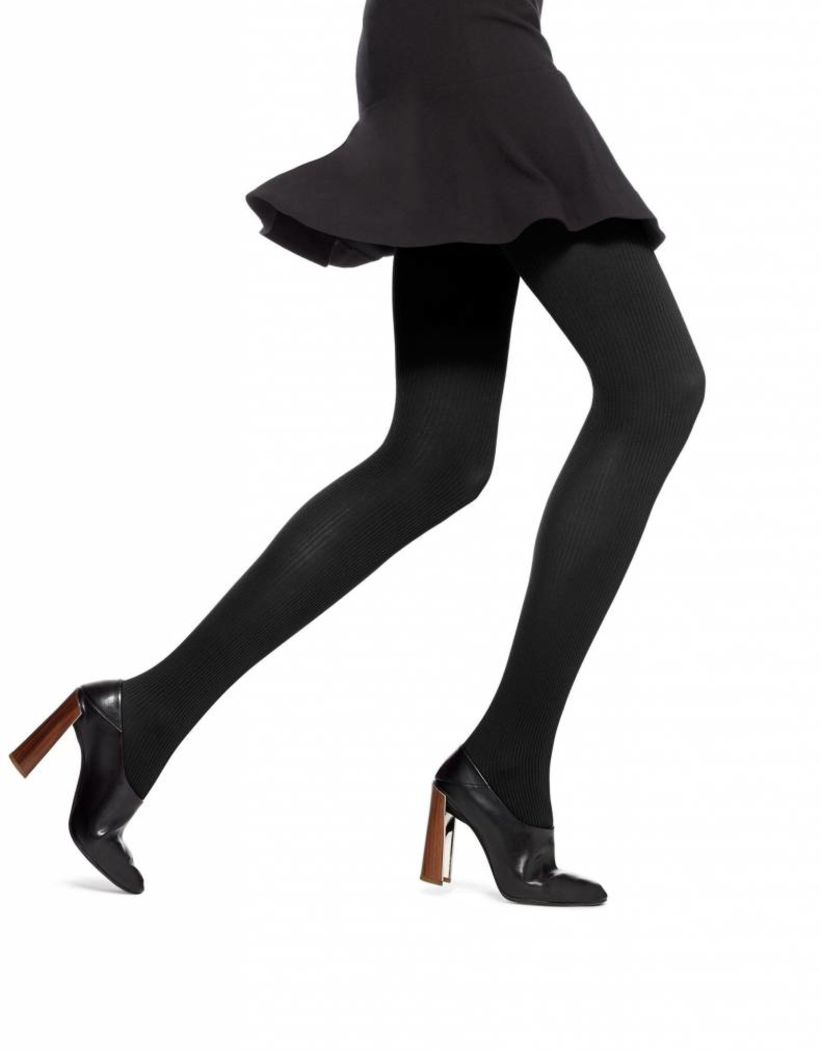 Hue Hue Classic Rib Control Top Tights