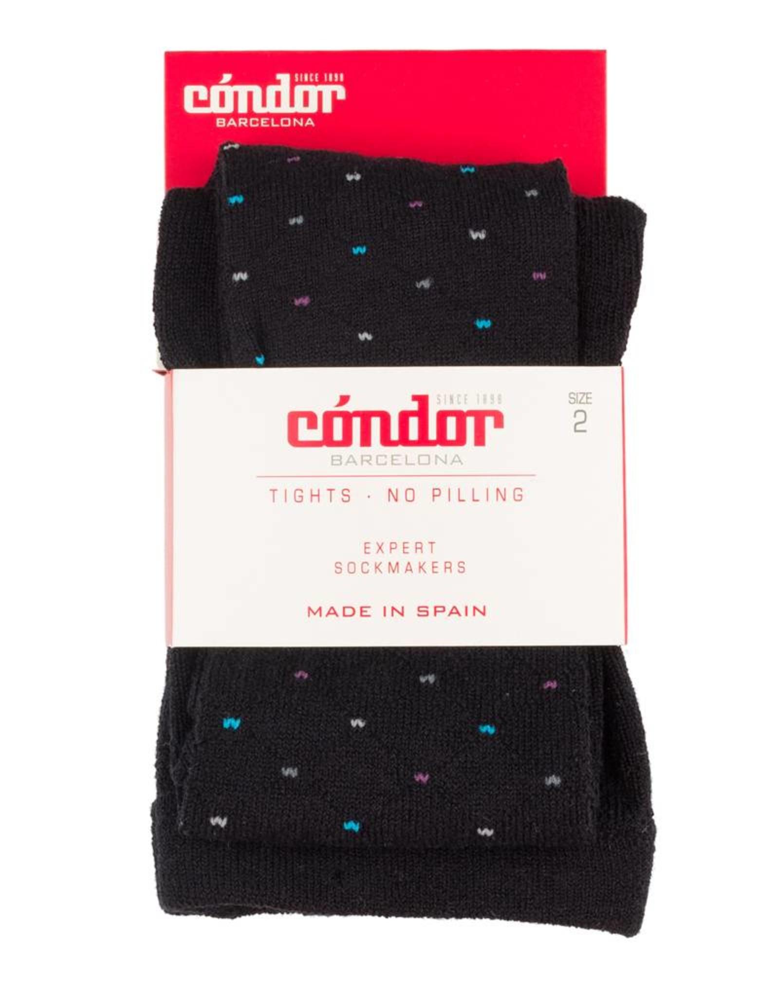Condor Condor Diamond Shape Polka Dot Print Tights