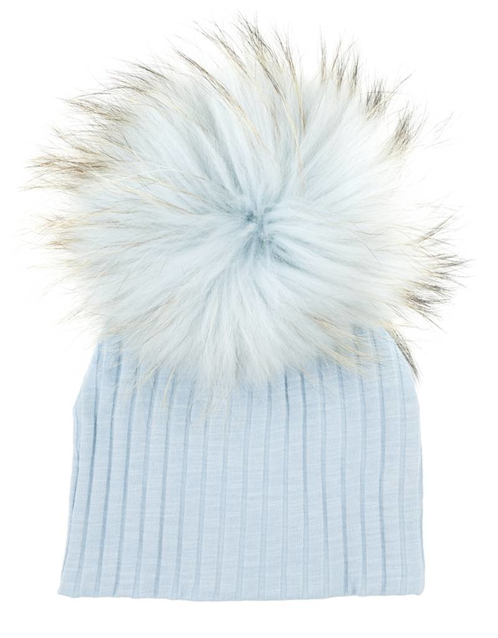 Maniere Maniere Ribbed Baby Hat