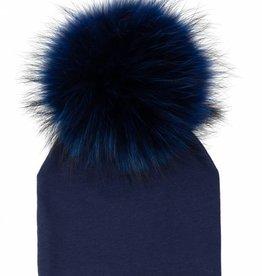 Maniere Maniere Fur Pom Baby Hat