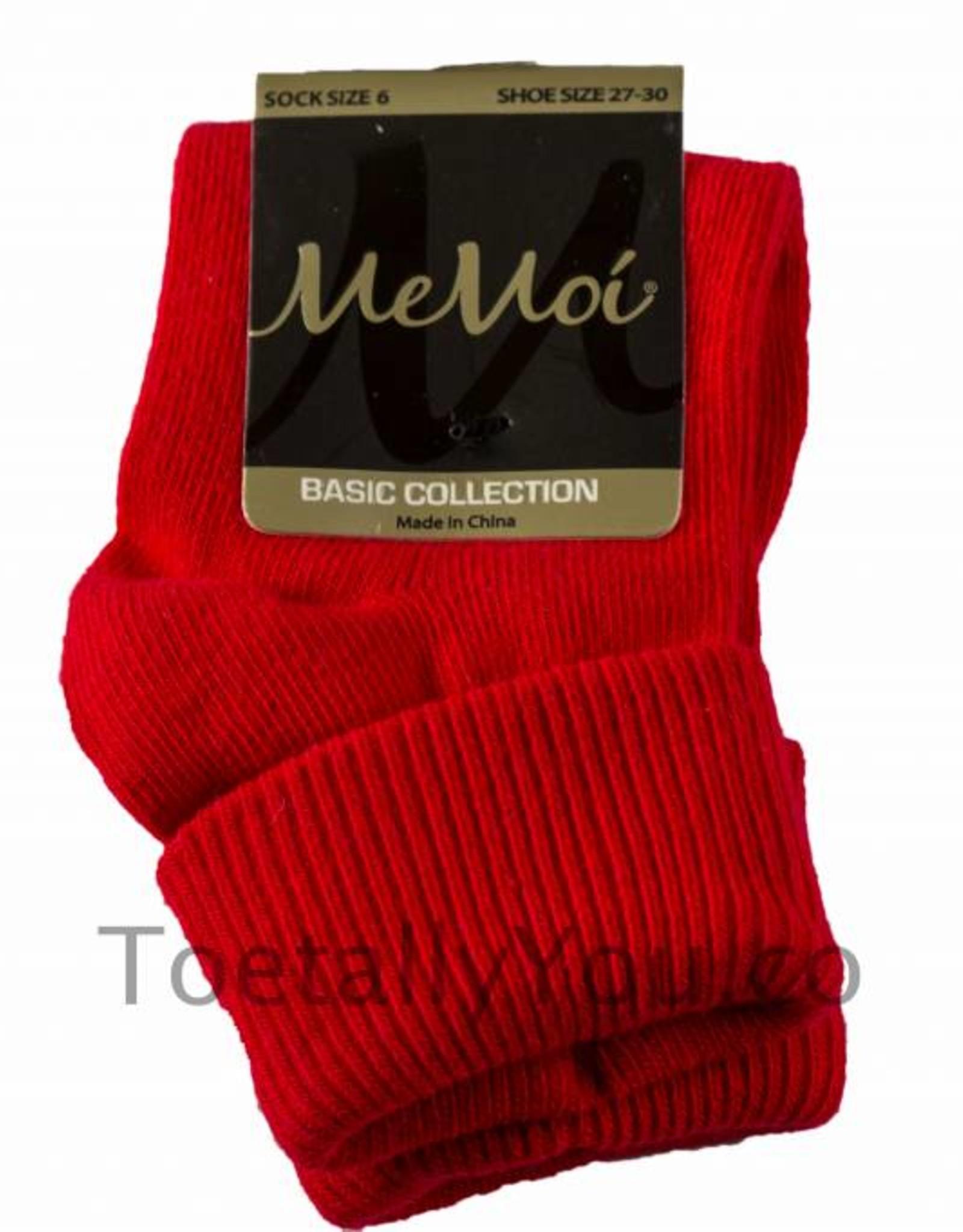 Memoi Memoi Triple Roll Socks More Colors