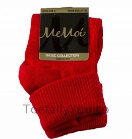 Memoi Memoi Triple Roll Socks More Colors