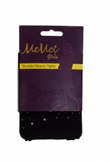 Memoi Memoi Girls Studded Beauty Microfiber Tights