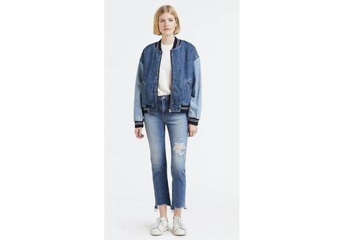 Levis 724 Hi-Rise Straight Crop