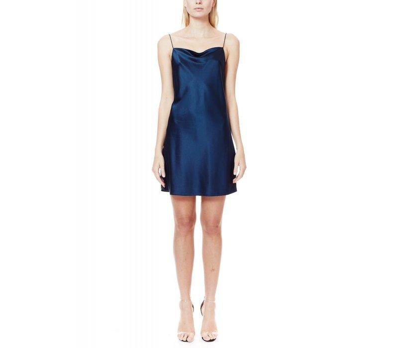 NYC Axel mini slip dress