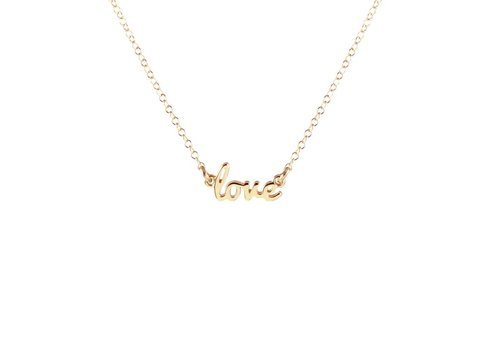 Kris Nations Love Charm Necklace