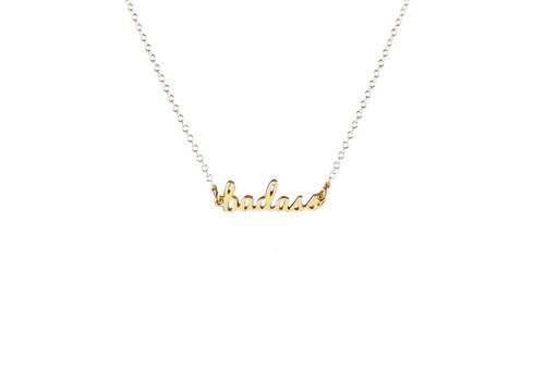 Kris Nations Badass Charm Necklace