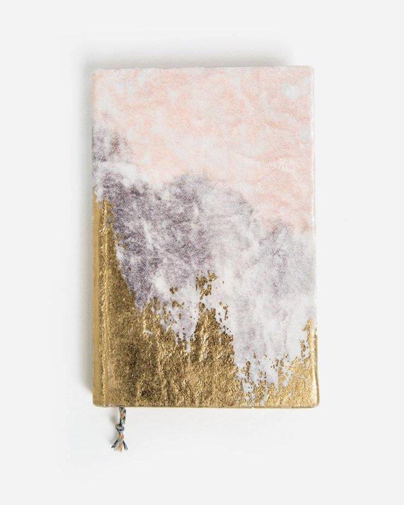 Printfresh Mini Velvet Gratitude Journal