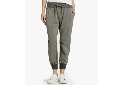 James Perse Mixed Media Jersey Pant (Pre-Order)