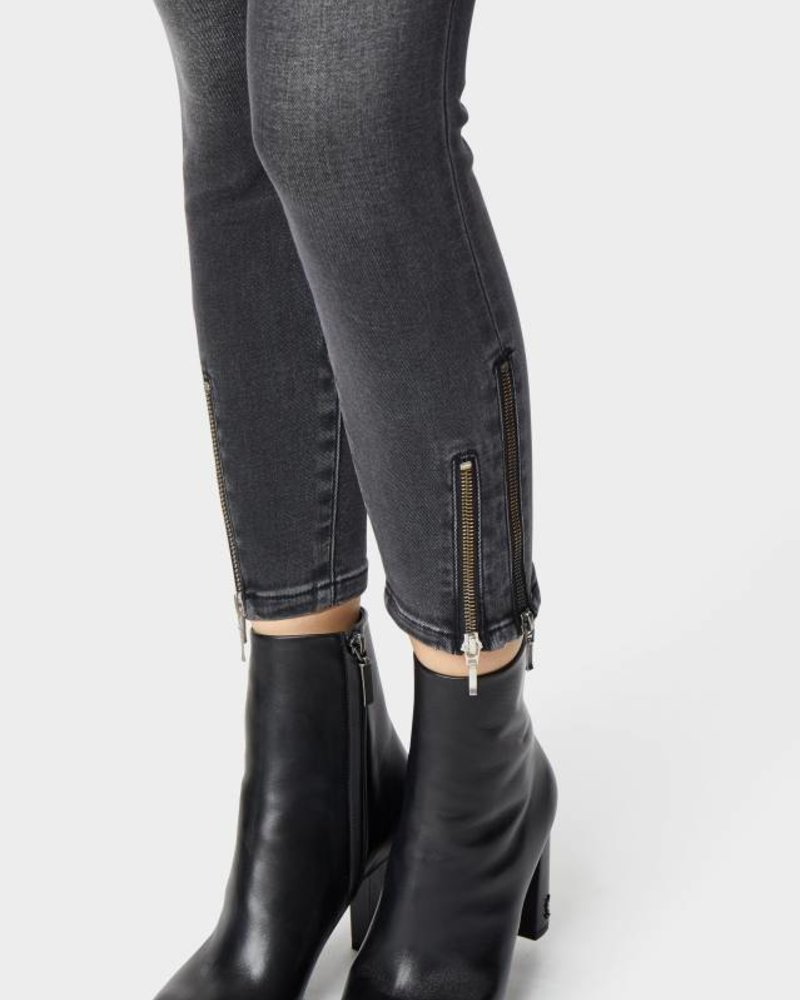 Habitual Marina Double Ankle Zip Mid Rise Skinny