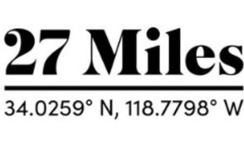 27 Miles Malibu