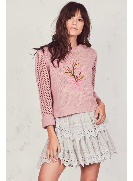 Love Shack Fancy Ruffle Mini Skirt