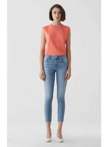 Agolde Sophie Hi Rise Skinny Crop Limit / Discretion