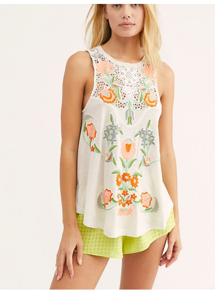 Free People Flower Power Tank
