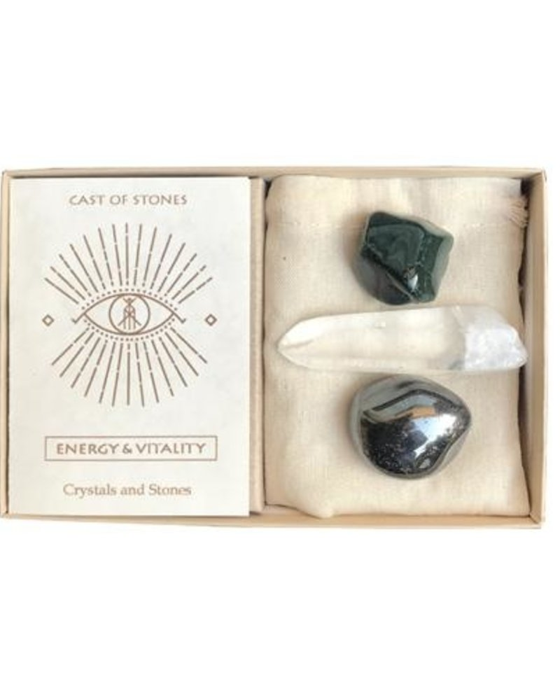 Cast of Stones Energy & Vitality