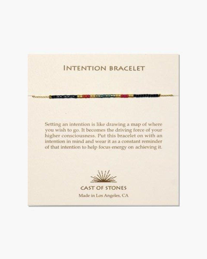 Cast of Stones: Micro Intention Bracelets
