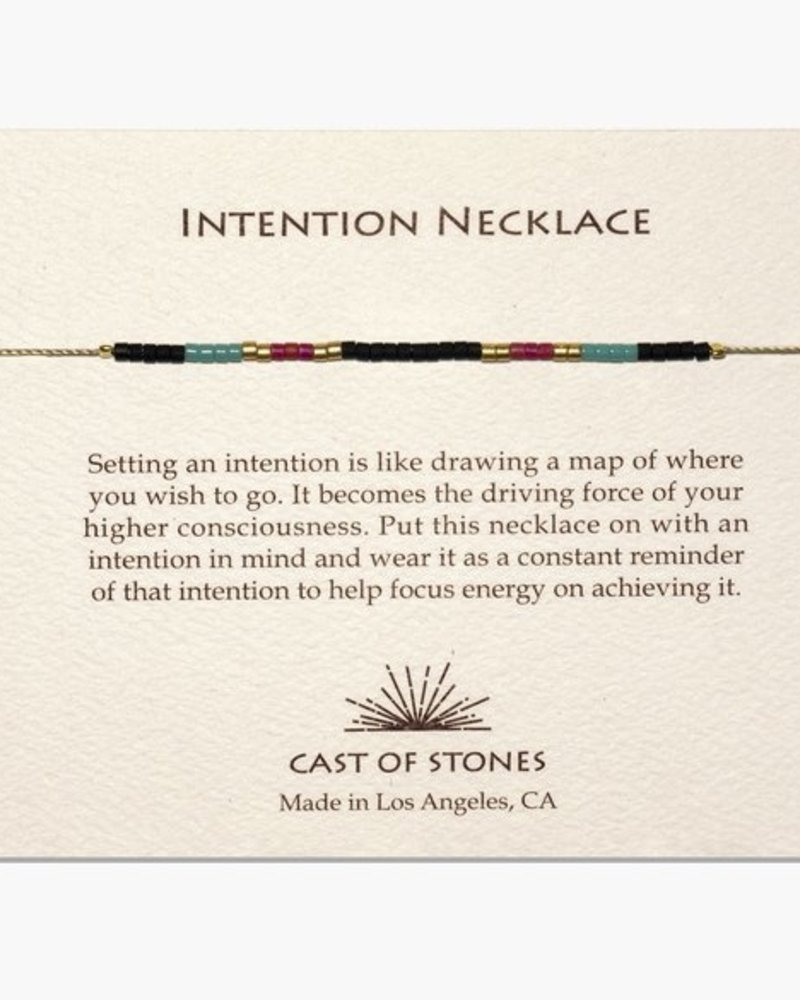 Cast of Stones Intention Necklace
