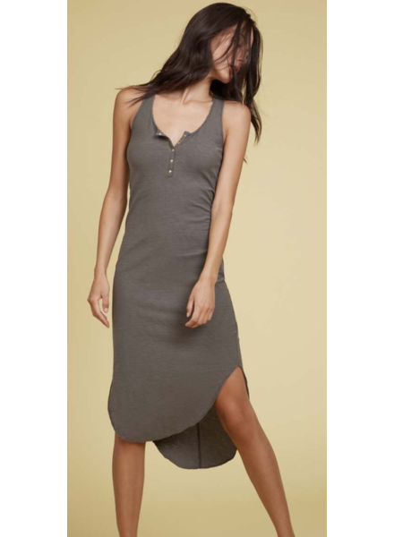 NATION Maya Elongated Henley Dress