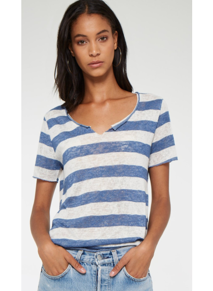 PROJECT SOCIAL T Suzie Shirttail Striped Tee