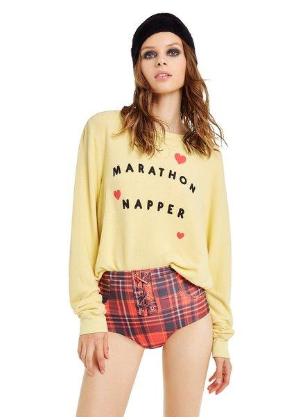 Wildfox Baggy Beach Jumper - Marathon Napper