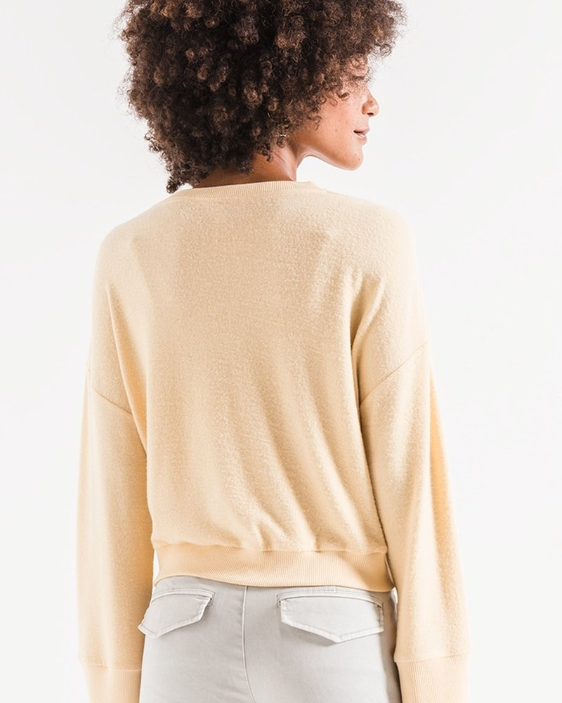 Z Supply The Sweater Knit Notch Front