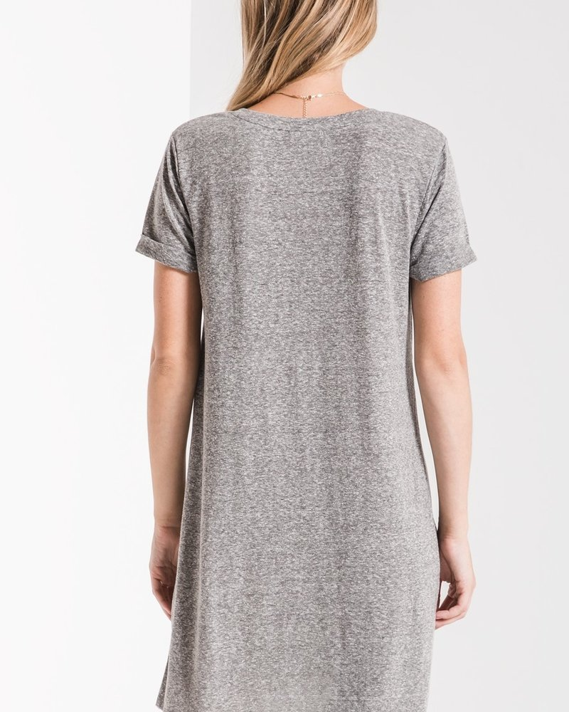 Z Supply Triblend Side Knot Dress