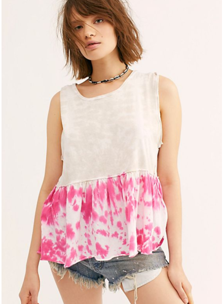 Free People Tie Dye Anytime Tank