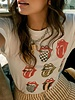 Daydreamer Rolling Stones Star Tongue Ringer Tee