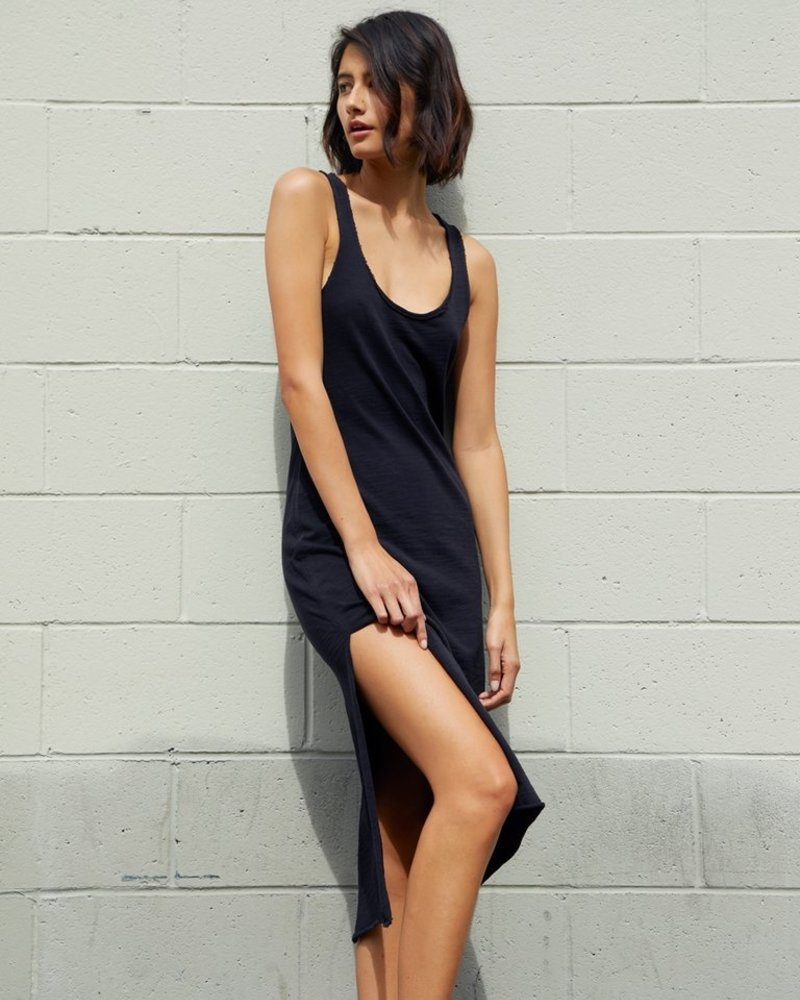 NATION Valerie Side Slit Tank dress