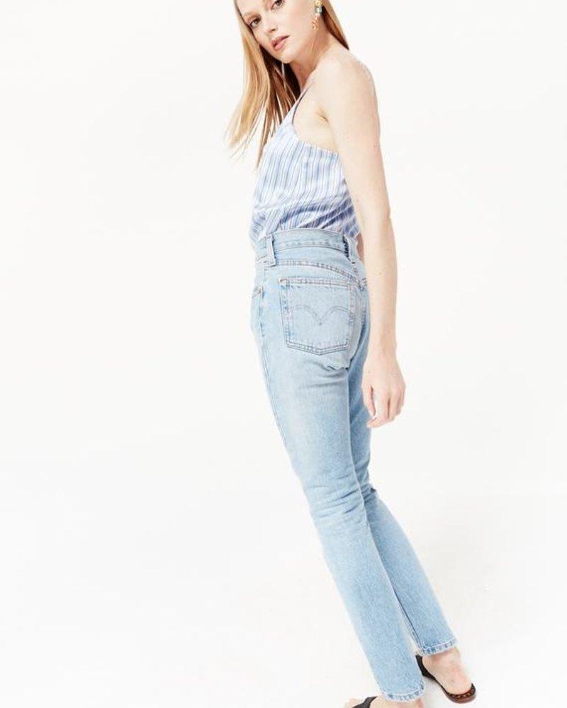 Cami NYC The Olivia Cornflower Stripe