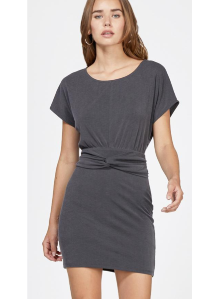Greylin Krista Waist Knot Modal Knit Dress