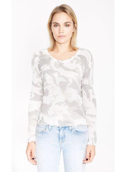 Suzie Camo Sweater